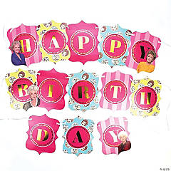 The Golden Girls Happy Birthday Jointed Banner