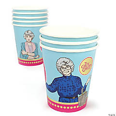 The Golden Girls Paper Cups - 8 Ct.