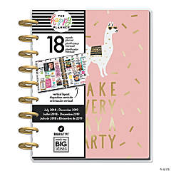 The Happy Planner® 2018-2019 Gold Getter 18-Month Planner