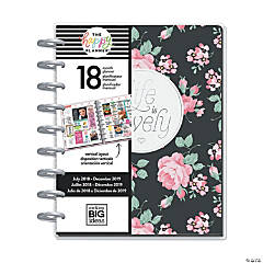 The Happy Planner® 2018-2019 Simply Lovely 18-Month Planner