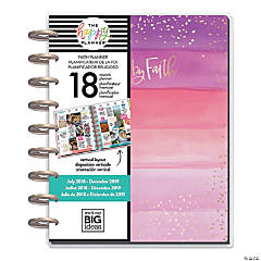 The Happy Planner® 2018-2019 Walk By Faith Medium 18-Month Planner