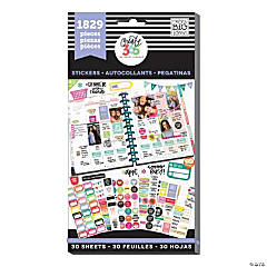 The Happy Planner<sup>®</sup> Basics Value Pack Stickers