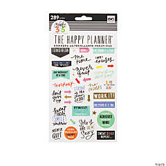 The Happy Planner<sup>®</sup> Fitness Planner Stickers