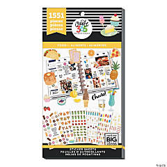 The Happy Planner<sup>®</sup> Yummy Food Value Pack Stickers
