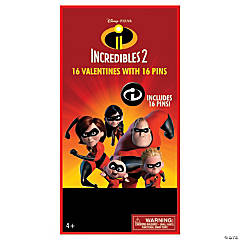 The Incredibles 2™ Pins with Valentine's Day Cards