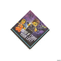 The LEGO Movie 2: The Second Act® Beverage Napkins