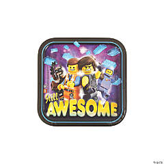 The LEGO Movie 2: The Second Act® Dessert Plates