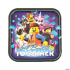 The LEGO Movie 2: The Second Act® Dinner Plates