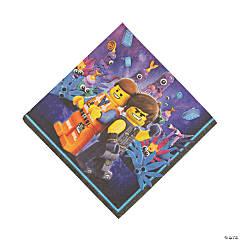 The LEGO Movie 2: The Second Act® Luncheon Napkins