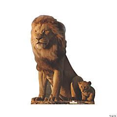 The Lion King™ King Mufasa & Young Simba Stand-Up