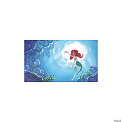 The Little Mermaid Part of Your World Prepasted Mural