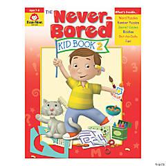 The Never-Bored Kid Activity Book, Grades 1-2, Book 2, 2 Books