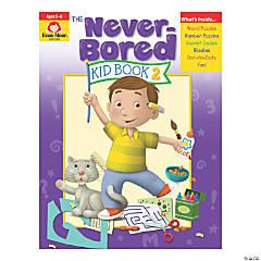 The Never-Bored Kid Activity Book, Grades K-1, Book 2, 2 Books