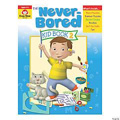 The Never-Bored Kid Activity Book, Grades PreK-K, Book 2, 2 Books