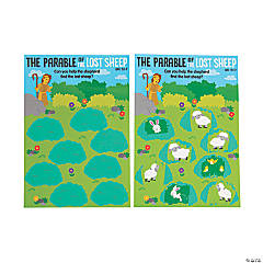 The Parable of the Lost Sheep Scratch 'N Reveal Activities