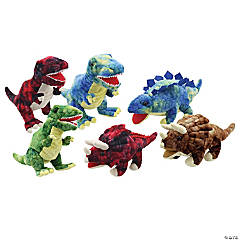 The Puppet Company Baby Dinos Puppets, Set of 6