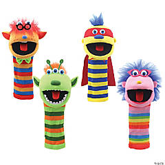 The Puppet Company Knitted Puppets Set 1, Set of 4