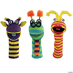 The Puppet Company Knitted Puppets Set 2, Set of 3