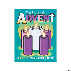 The Season of Advent Coloring Books