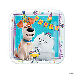 The Secret Life of Pets 2™ Paper Dinner Plates - 8 Ct.