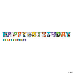 The Secret Life of Pets 2™ Add-an-Age Birthday Banner