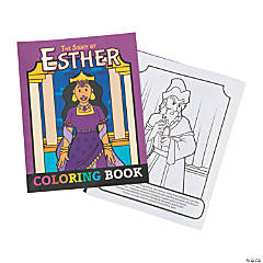 The Story of Esther Coloring Books