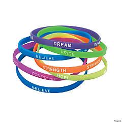 Thin Inspirational Bracelets