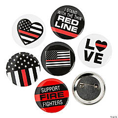 Thin Red Line Buttons