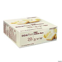 thinkThin High Protein Bars Lemon Delight, 2.1 oz, 10 Count