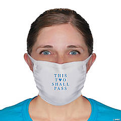 This Too Shall Pass Fabric Face Masks - 2 Pc.