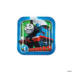 Thomas the Tank Engine & Friends™ Square Paper Dessert Plates - 8 Ct.