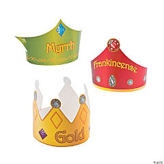 Three Kings Gift Crowns