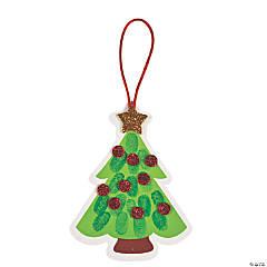 Thumbprint Christmas Tree Ornament Craft Kit