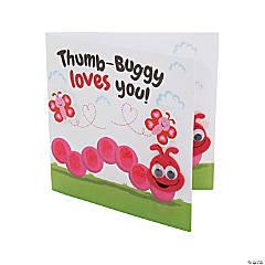 Thumbprint Valentine's Day Card Craft Kit