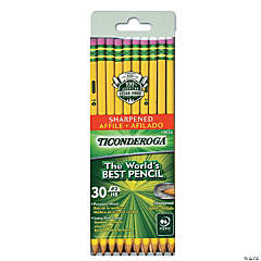 Ticonderoga® No. 2 Pencils, Presharpened, 30 Per Pack