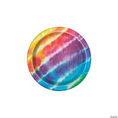 Tie-Dye Paper Dessert Plates - 8 Ct.