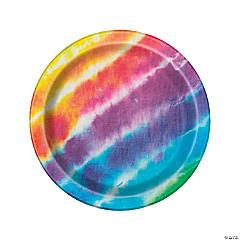 Tie-Dye Paper Dinner Plates - 8 Ct.