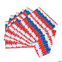 Tie-Dyed Patriotic Bandanas