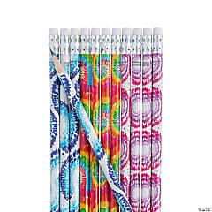 Tie-Dyed Pencils