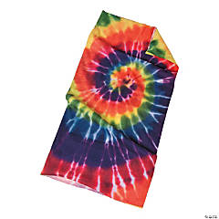 Tie-Dyed Tubular Head Scarf