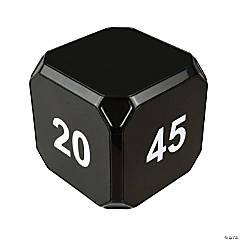 TimeCubePlus 2-10-20-45 Min Timer Black
