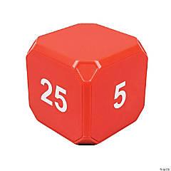 TimeCubePlus 5-10-20-25 Min Timer Red