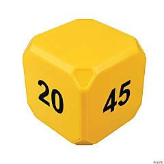 TimeCubePlus 5-10-20-45 Min Timer Yellow