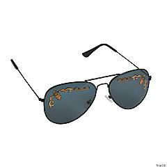 Timeless Glamour Aviator Sunglasses