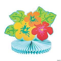Tissue Bright Hibiscus Centerpiece