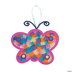 Tissue Paper Butterflies Craft Kit