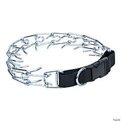 "Titan Easy-On Prong Dog Training Collar W/Buckle-Black/Chrome, Neck Size 20"""