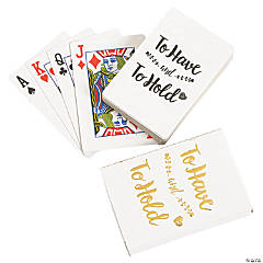 To Have & To Hold Playing Cards