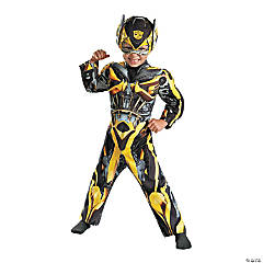 Toddler Boy's Muscle Chest Transformers™ Bumblebee Costume - 2T