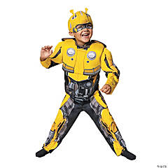 Toddler Boy's Muscle Chest Transformers™ Bumblebee Costume - 3T-4T